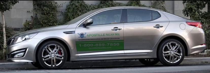 Apostille Services Near You in California